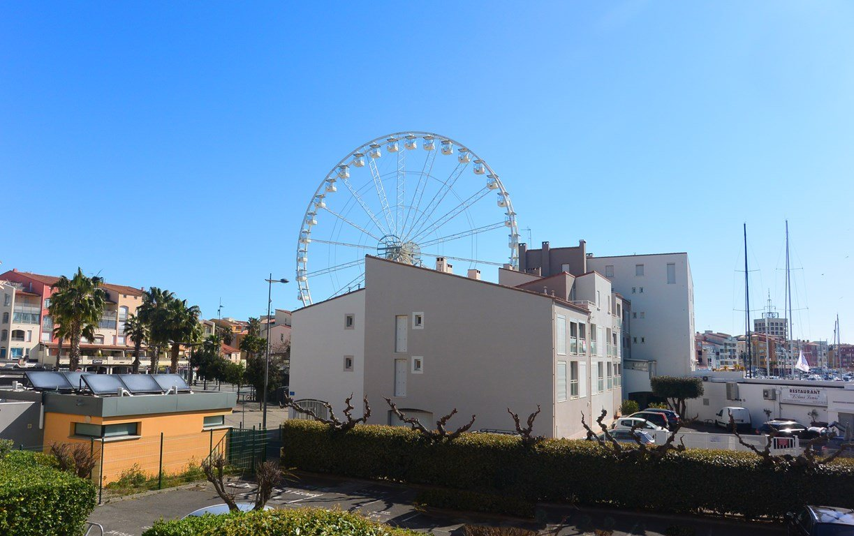 Port Brescou 3 Studio Cabine grand CAP D'AGDE